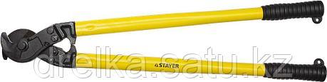 """Кабелерез STAYER """"PROFI"""" для цветных металлов (Cu + Al ), кабель до d 16мм, 800мм , фото 2"""