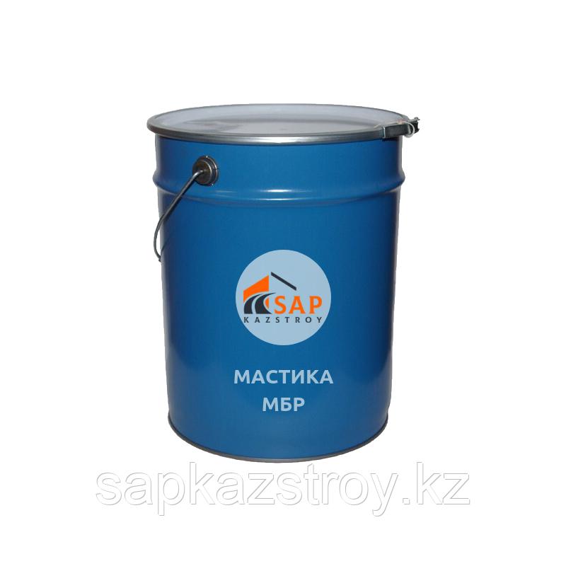 Мастика битумно-резиновая МБР