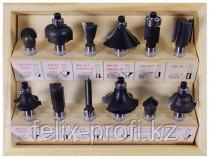 Набор фрез (12 шт.) для ручного фрезера Enhell