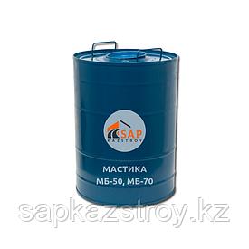 Мастика битумно-маслянная морозостойкая (МБ-50, МБ-70)