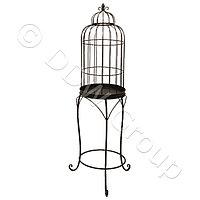 Декоративная птичья клетка металлич золотая h107см KA3854551