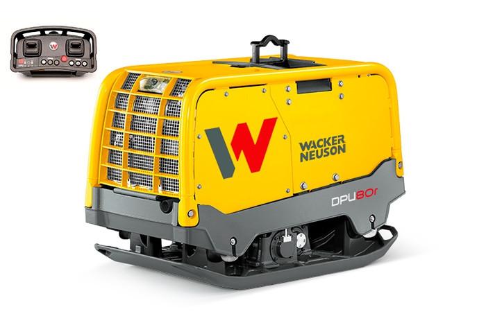 Виброплита дизельная на инфракрасном управлении Wacker Neuson DPU 80r Lem770 (724 кг)