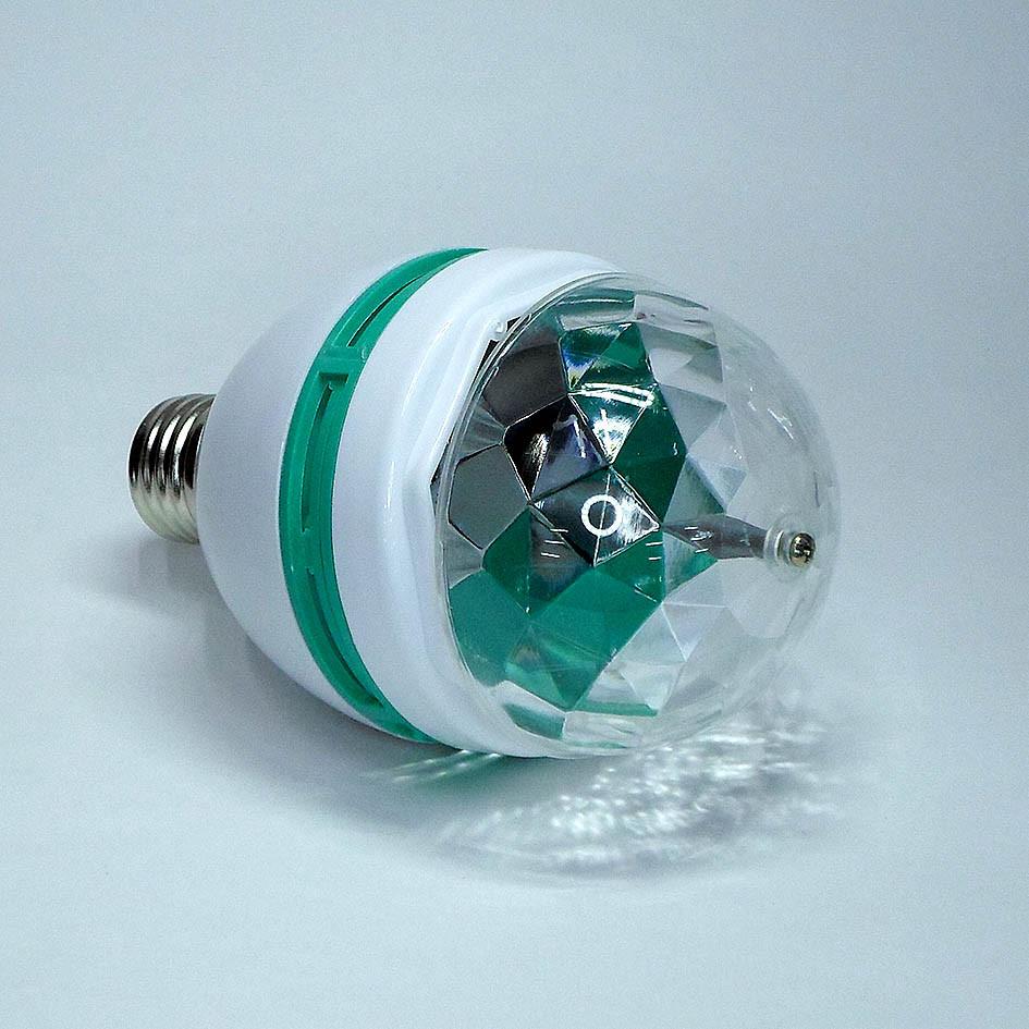 Лампа с диско шаром