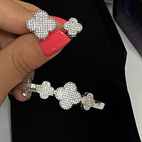 Шикарный набор Браслет и кольцо Van Cleef