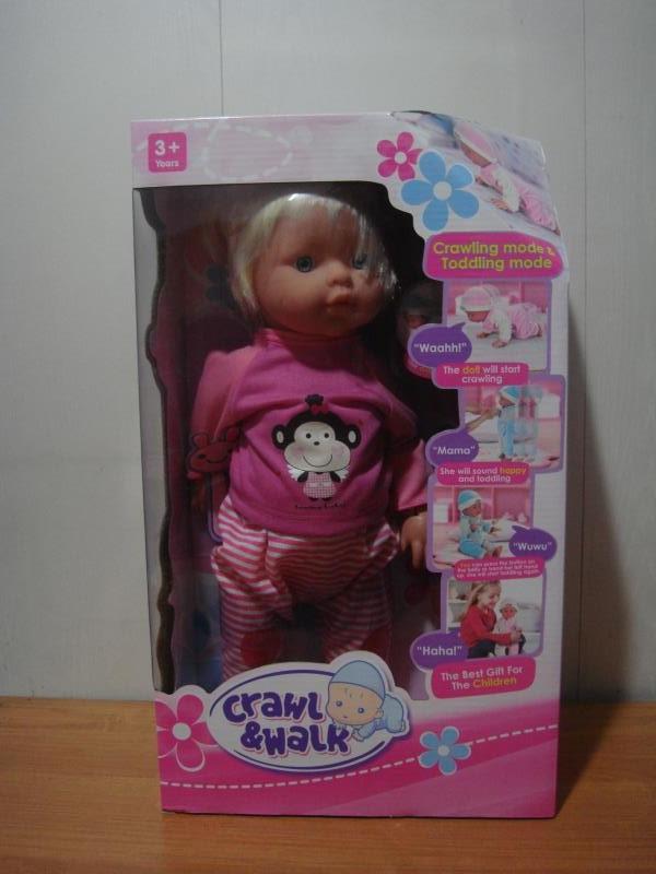 Кукла (ползает и ходит)