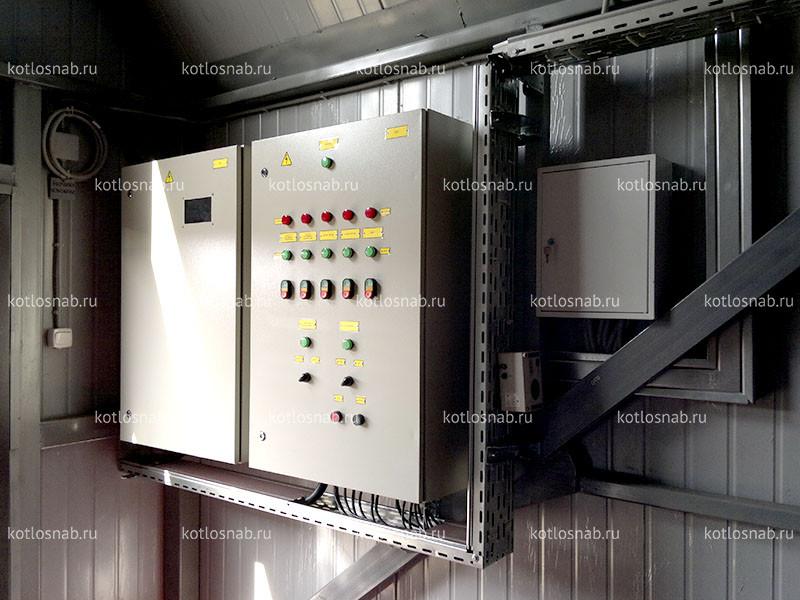 Автоматика для котлов и модульных котельных установок