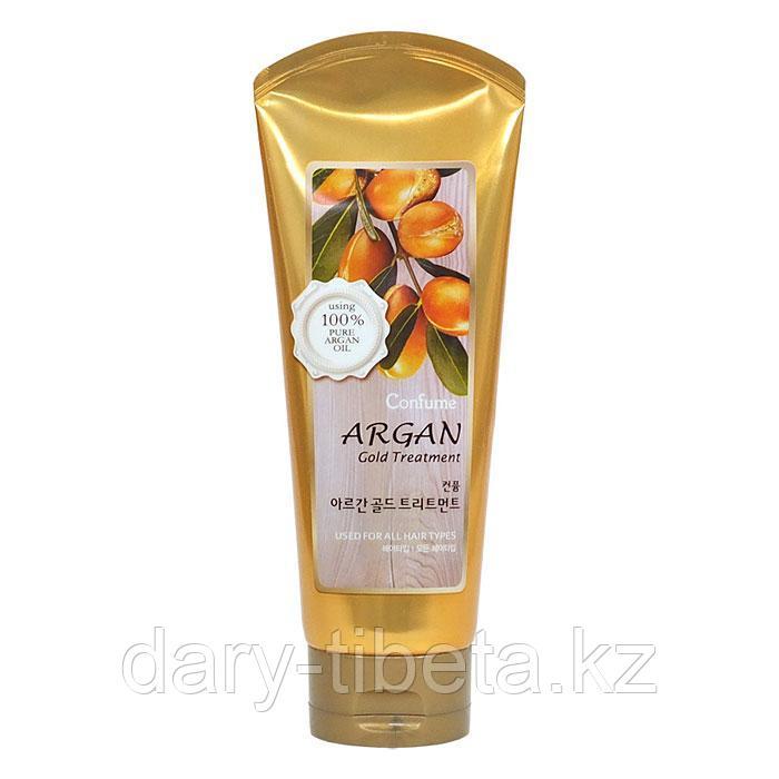Welcos Confume Argan Gold Treatmet- Маска для поврежденных волос на основе арганового масла
