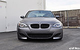 Передний бампер М на BMW M5 (e60), фото 2