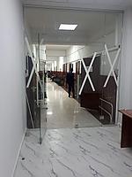 Перегородки из стекла в офисе