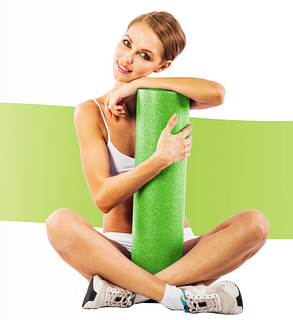 Спортивный валик US MEDICA Foam Roller, фото 2