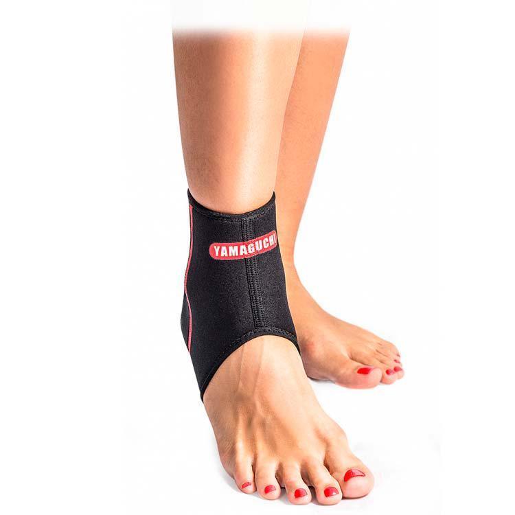 Бандаж на голеностопный сустав с открытой пяткой Yamaguchi Neoprene Ankle Support