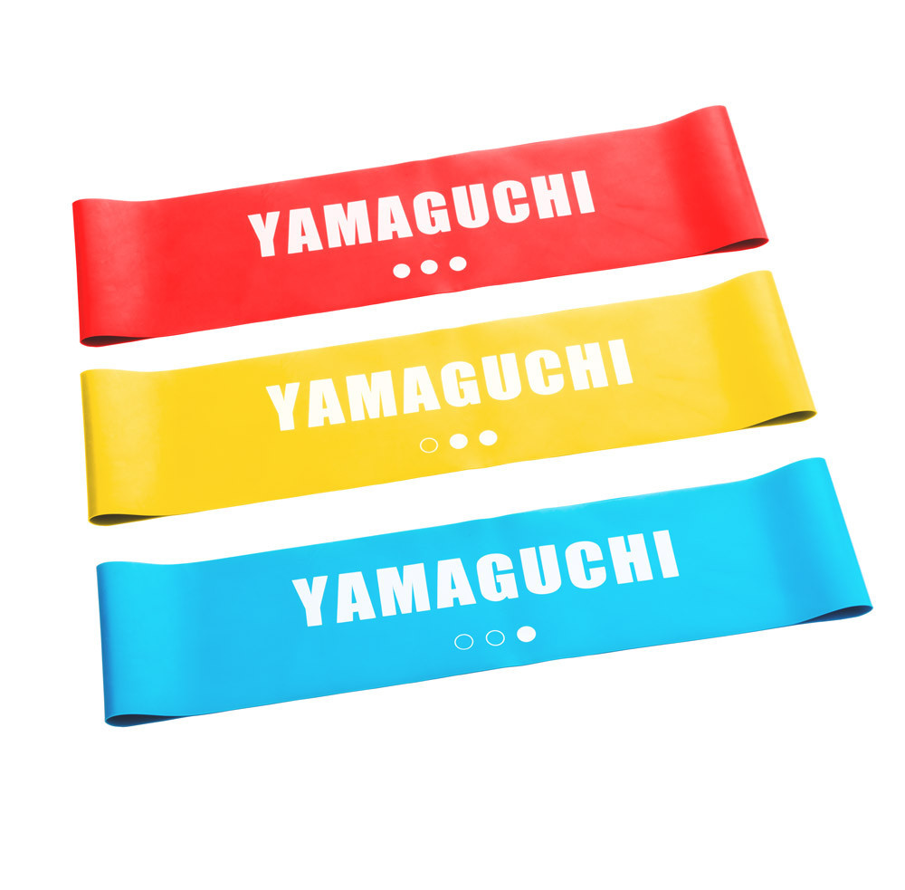 Набор из трех эластичных закольцованных лент Yamaguchi Stretch FIT