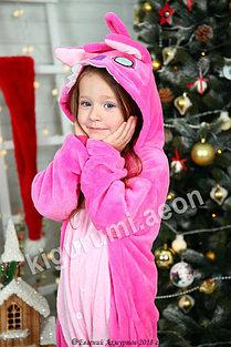 Кигуруми Стич розовый детский