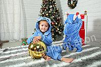 Кигуруми Стич голубой детский