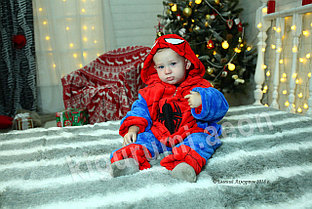 Кигуруми Человек-паук (спайдермен) детский