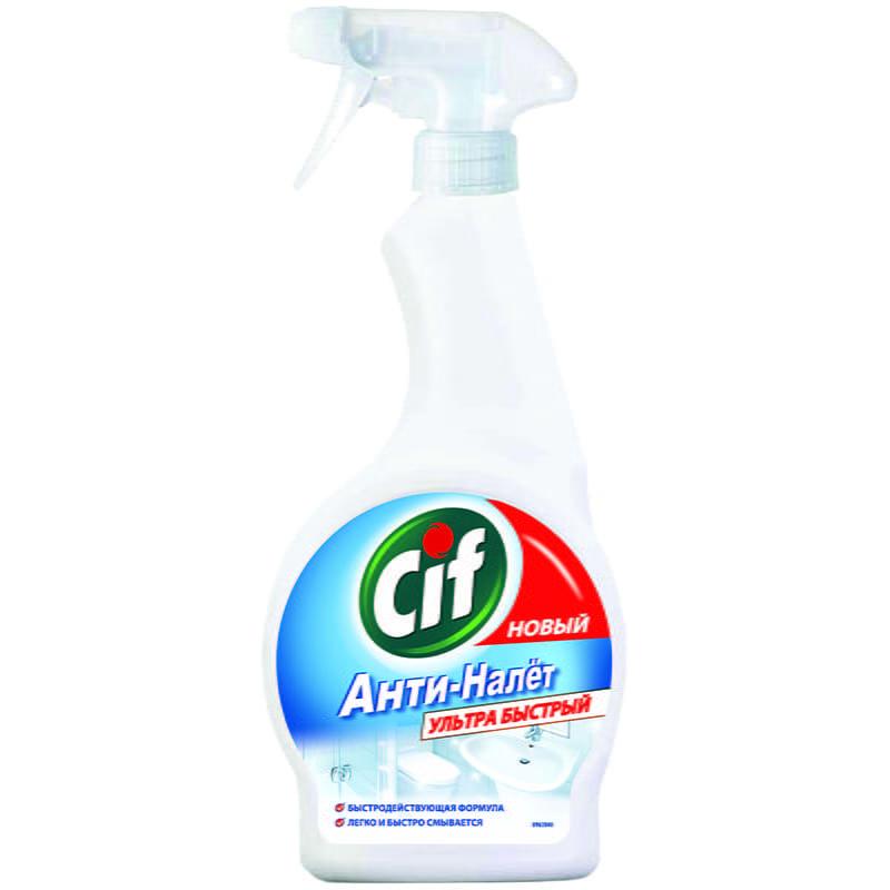 "Чистящее средство Cif ""Анти-налет"", спрей, 500мл"