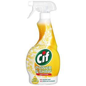 """Средство чистящее Cif """"Легкость чистоты"""", для кухни, спрей, с маслом апельсина и мандарина, 500мл"""