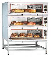 Шкаф пекарский подовый Abat ЭШП-3-01КП с каменным подом