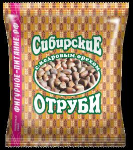 Отруби пшеничные  кедровый орех  200 гр Сибирские