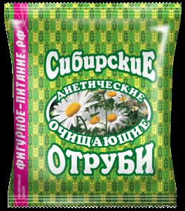 Отруби пшеничные  очищающие 200 гр Сибирские