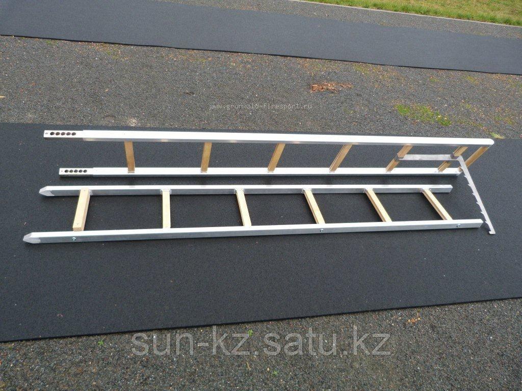 Лестница штурмовая HL 1 WM Profi с титановым крюком - фото 2