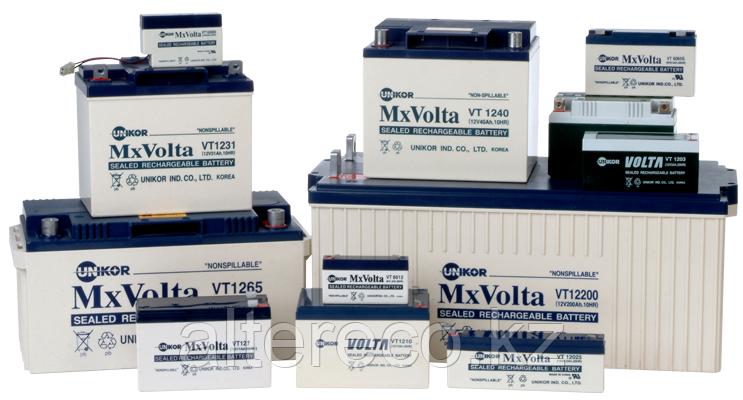Аккумулятор Unikor MxVolta VT 12100 (12В, 100Ач), фото 2