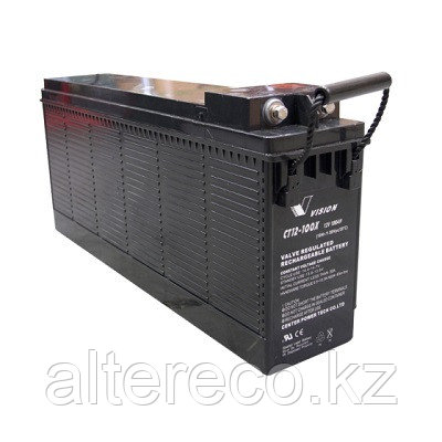 Аккумулятор VISION CT12-100X (12В, 100Ач)
