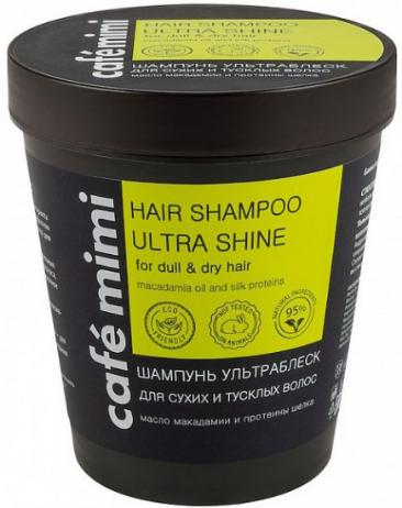 Шампунь «Ultra shine» для cухих и тусклых волос