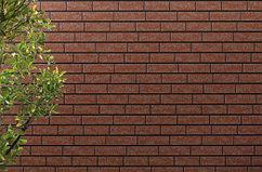 Фасадные панели для многоэтажного строительства - Керамический кирпич 14 мм (Серадир V14).