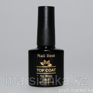 Топ Nail Best Top Coat (без липкого слоя), 10мл.