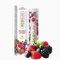 Лесные ягоды ECO SLIM шипучие конфеты для похудения., фото 1