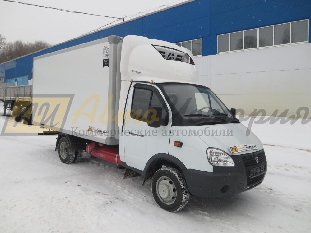 Газ 33025. Изотермический  фургон 4,2 м.  ХОУ.