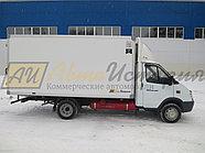 Газ 33025. Изотермический  фургон 4,2 м.  ХОУ., фото 2