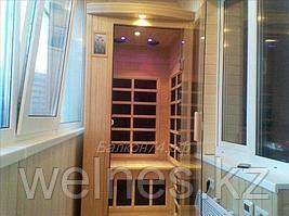 Инфракрасные сауны для балконов, квартир и частных домов.
