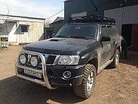 Багажник экспедиционный Nissan Patrol (Y60, Y61), фото 1