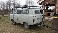 `УАЗ 3741, 2206 (микроавтобус)`, Грузовая платформа с сеткой, фото 1