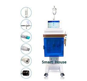 Аппарат 6 в 1, Вакуумной гидродермабразии, Крио, RF, ультразвук, Спреер