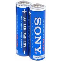 """Батарейки типа АА """"ALKALINE SONY"""", 2 шт."""