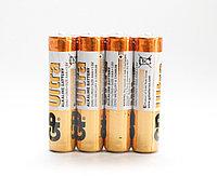 """Батарейки типа ААА """"GP Ultra"""", 4 шт."""