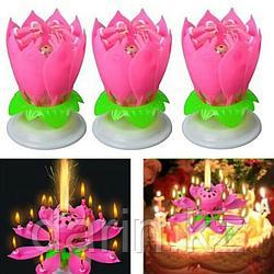 Свеча на торт Цветок