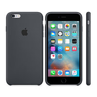 Apple iPhone 6s Silicone Case Charcoal - Gray аксессуары для смартфона (MKY02ZM/A)