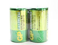 """Батарейки типа D """"GP Greencell"""", 2 шт."""