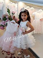 Шикарные платья с ободком Miss Lucia Girl