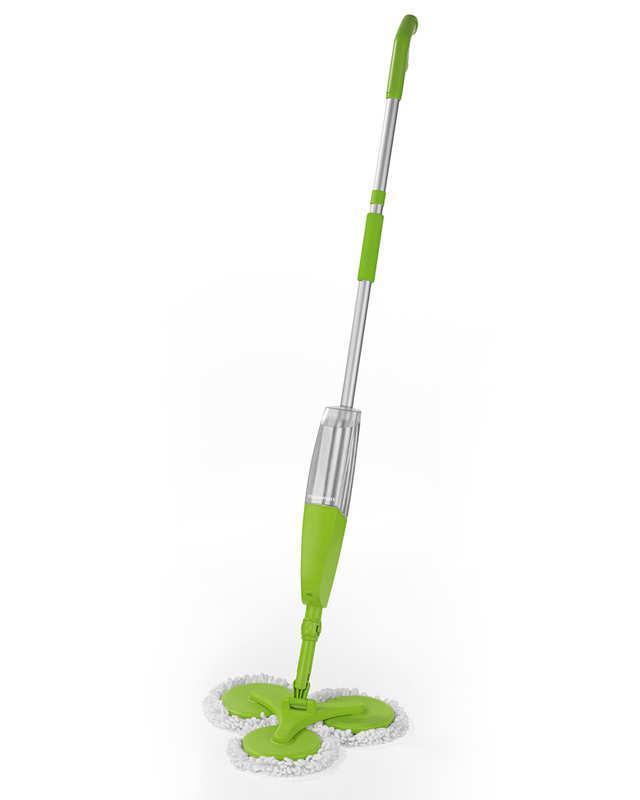 Тройная швабра 3 Magic Mop с распылителем