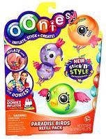 Набор дополнительных шариков для конструктора Oonies «Фабрика надувных игрушек» (Райские птички)