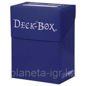 Коробочка для карт Ultra Pro - Синяя коробочка на 60 карт