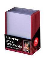 Протекторы Ultra Pro Жесткие прозрачные протекторы toploader 25 шт, фото 1