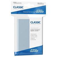 Ultimate Guard - Прозрачные протекторы 100 штук (классические) размер 66х93