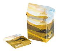 Коробочка для карт Deck case на 80шт, Ultimate Guard, Равнина, фото 1
