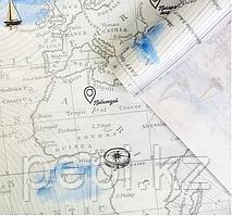 """Бумага крафт """"Карта"""", 0,7х 1 м, 70гр"""